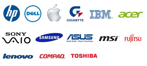 computer companies logos